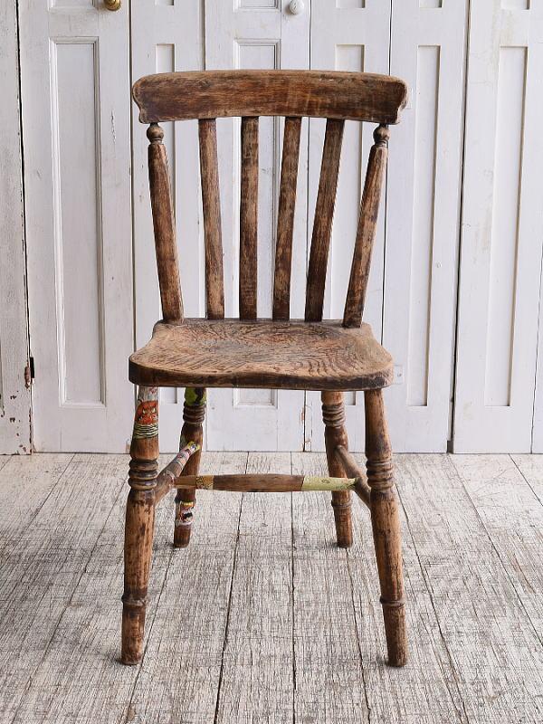 イギリス アンティーク家具 キッチンチェア 椅子 10130