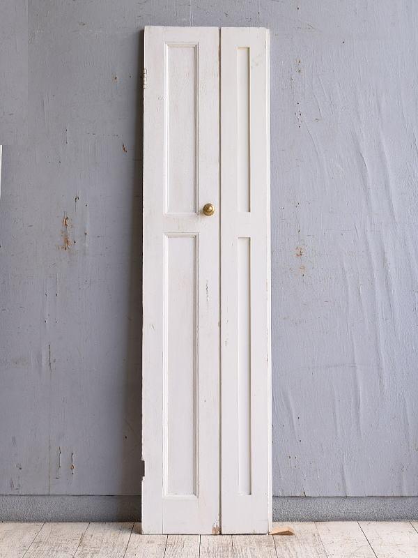 イギリス アンティーク カップボードドア 折れ戸 扉 10132