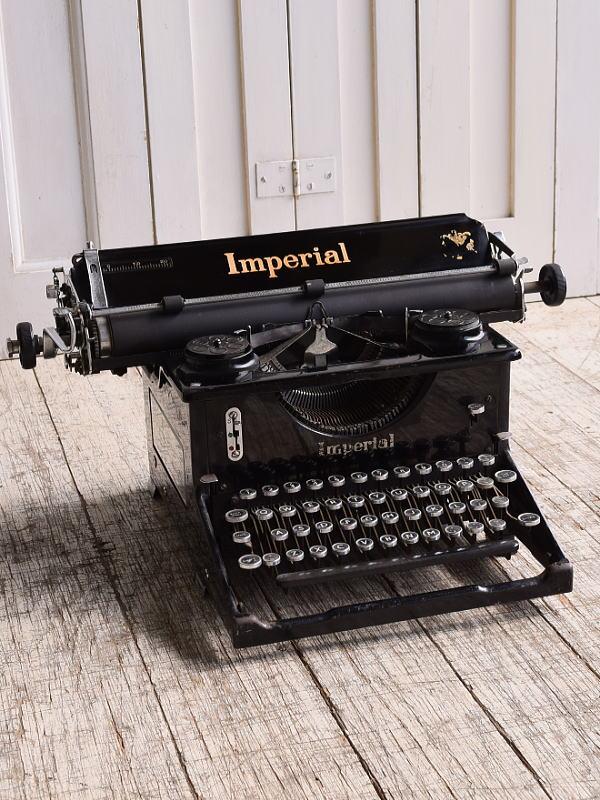 イギリスアンティーク タイプライター ディスプレイ 10135