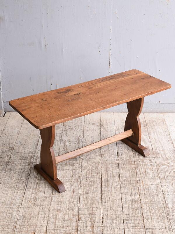 イギリス アンティーク 木製テーブル 作業台 10233