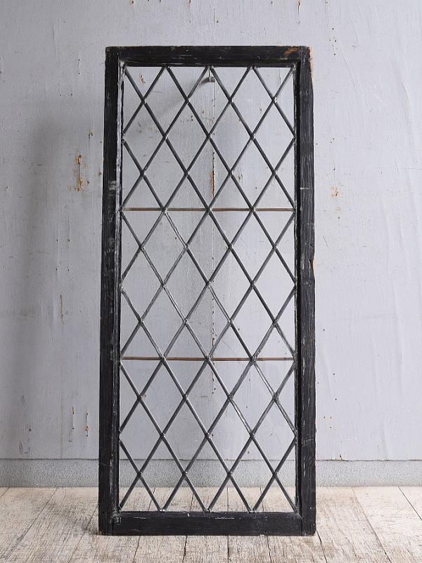 イギリス アンティーク 窓  無色透明 10234