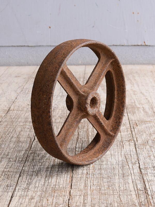 イギリス アンティーク 鉄製 車輪  10246