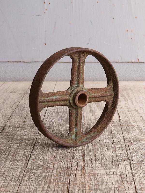イギリス アンティーク 鉄製 車輪 10251