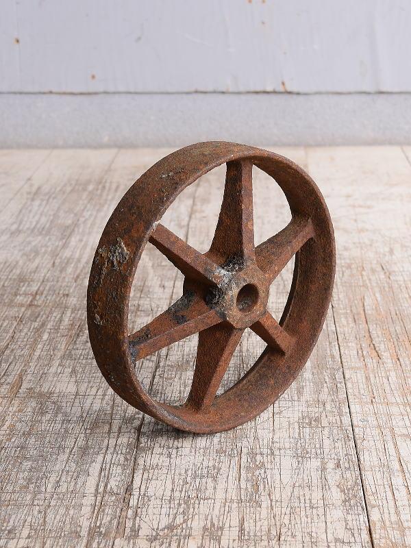 イギリス アンティーク 鉄製 車輪 10253