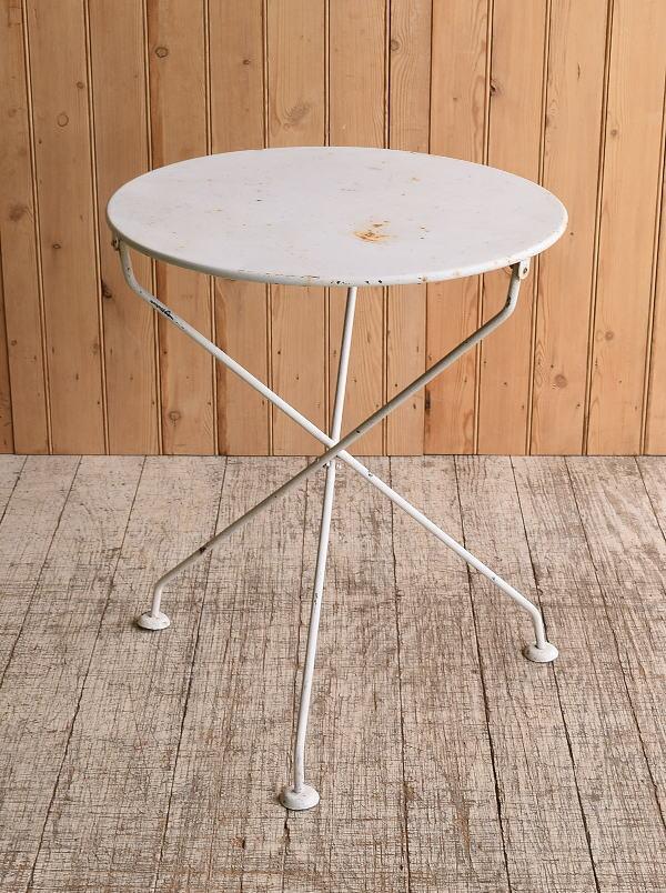 フレンチ アンティーク アイアン ガーデンテーブル 10265