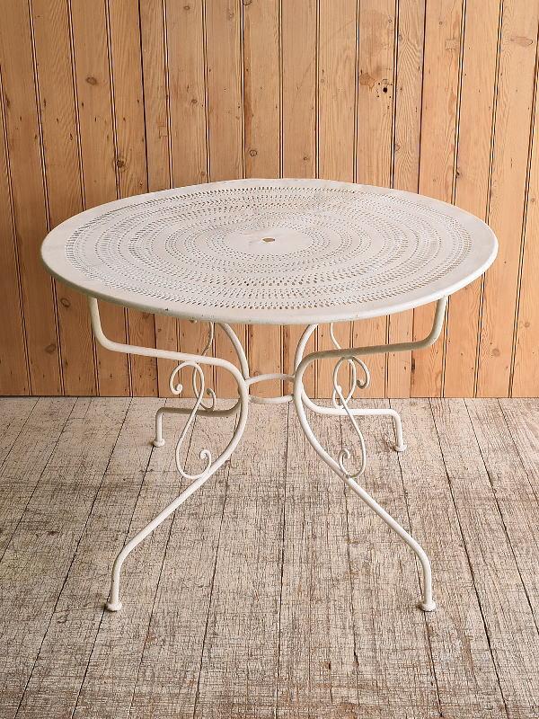 フレンチ アンティーク アイアン ガーデンテーブル 10266