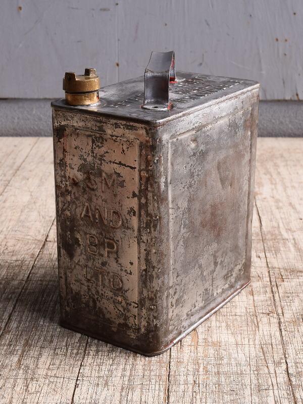 イギリス アンティーク ぺトロール缶 携行缶 10275