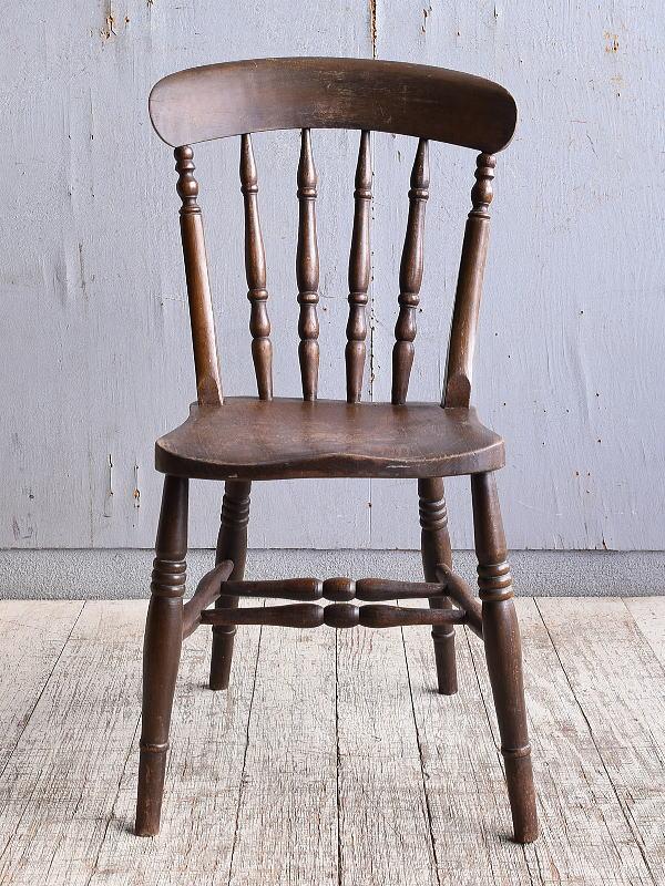 イギリス アンティーク家具 キッチンチェア 椅子 10384