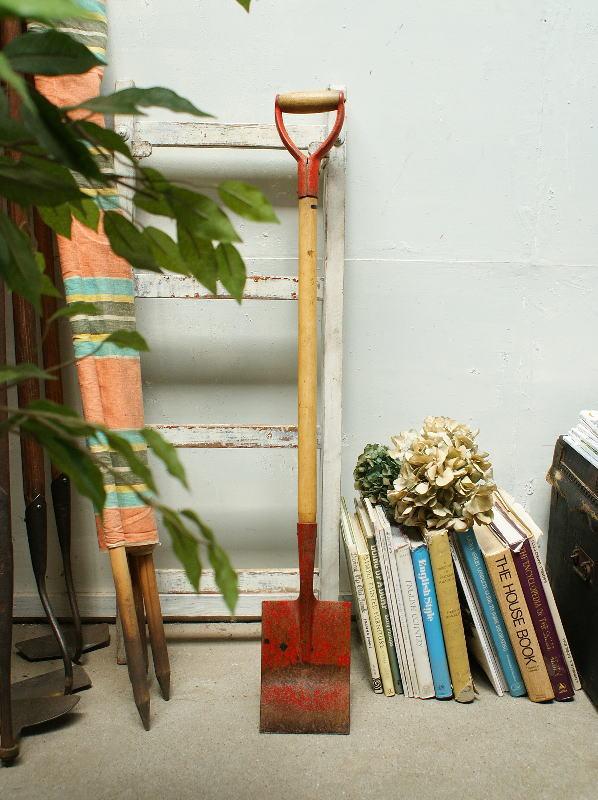 イギリス アンティーク スコップ ガーデンツール ガーデニング 2129