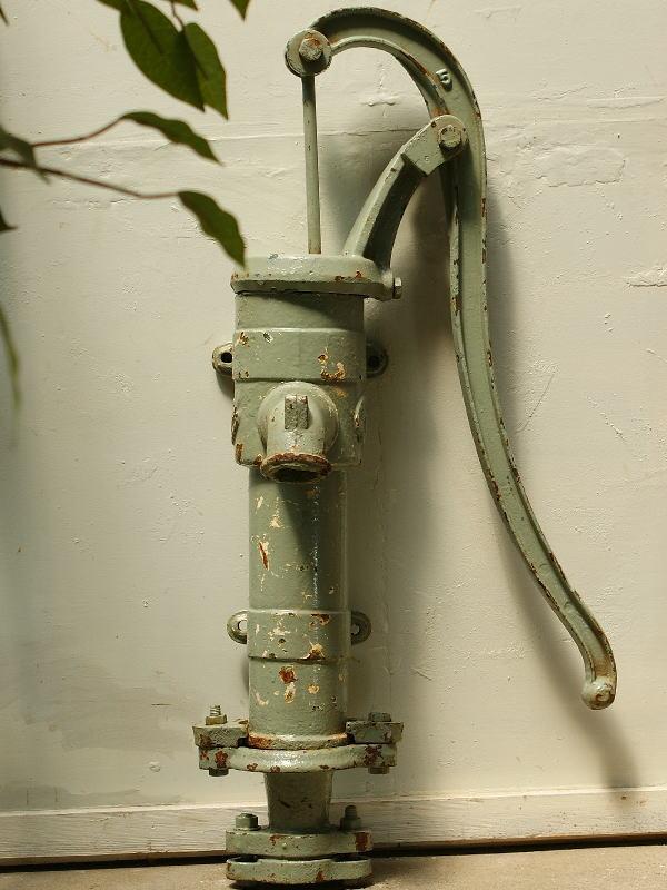 イギリス アンティーク ウォーターポンプ 井戸 ガーデニング 2229