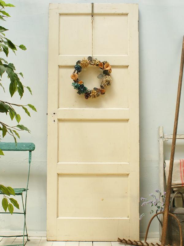 イギリスアンティーク 木製ドア 扉 建具 ディスプレイ 2262
