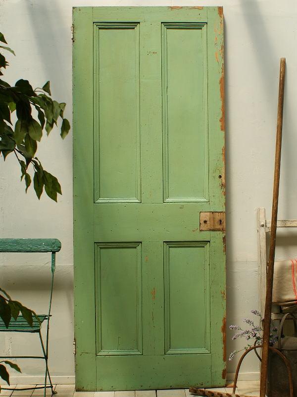 イギリスアンティーク 木製ドア 扉 建具 ディスプレイ 2264