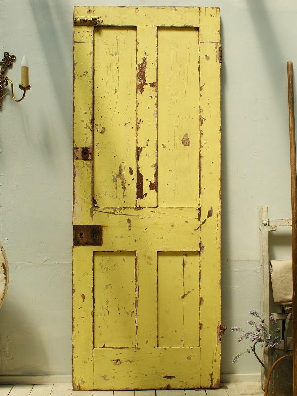 イギリスアンティーク 木製ドア 扉 建具 ディスプレイ 2289