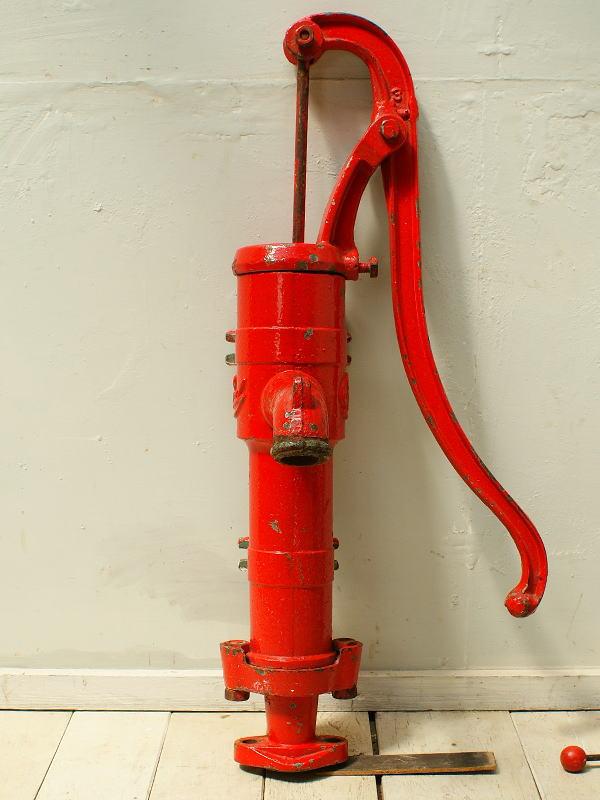 イギリス アンティーク ウォーターポンプ 井戸 ガーデニング 2373