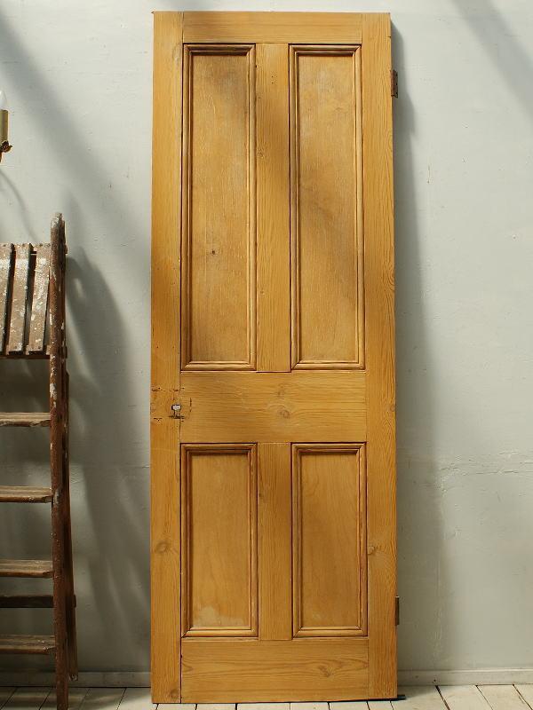 イギリスアンティーク オールドパインドア 扉 建具 ディスプレイ 2461