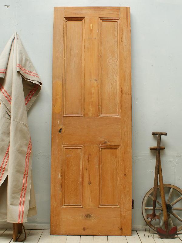 イギリスアンティーク オールドパインドア 扉 建具 ディスプレイ 2597