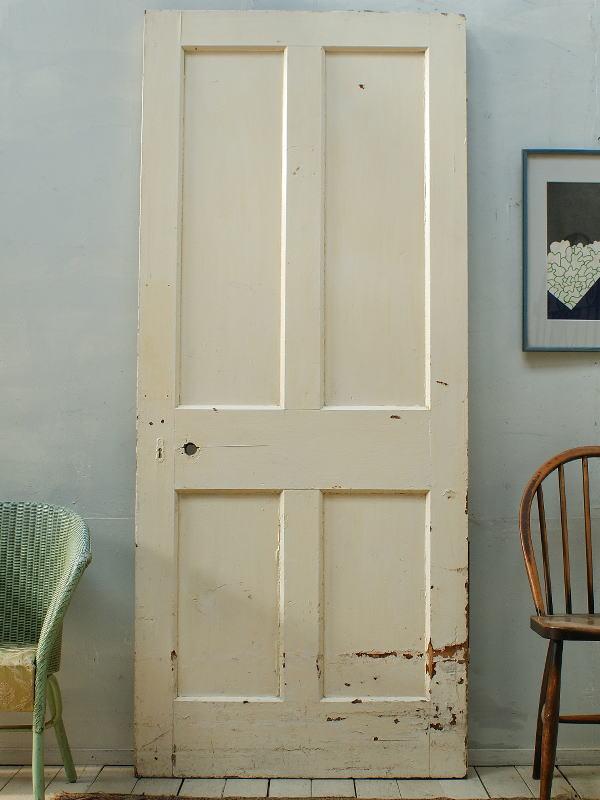 イギリスアンティーク 木製ドア 扉 建具 ディスプレイ 2637