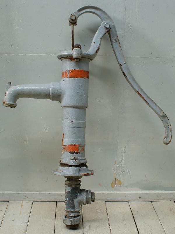 イギリス アンティーク ウォーターポンプ 井戸 ガーデニング 2687