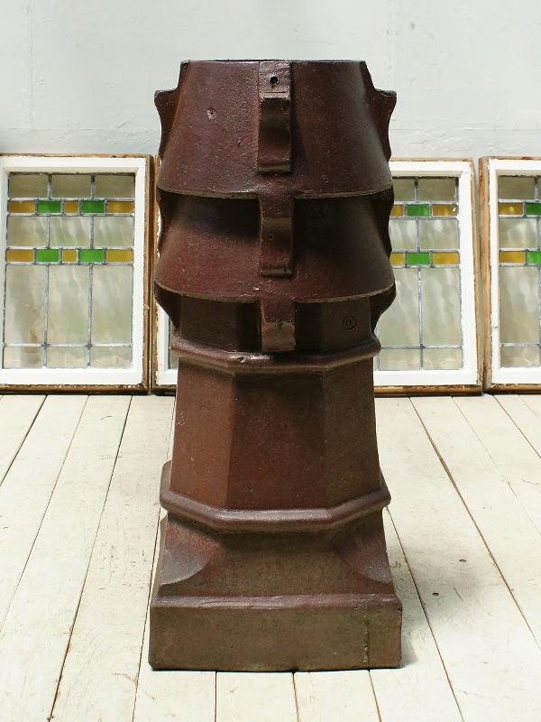 イギリス アンティーク チムニーポット 植木鉢 プランター 3274