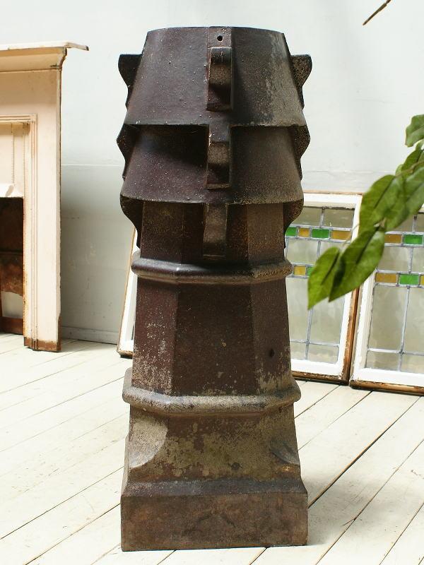イギリス アンティーク チムニーポット 植木鉢 プランター 3275