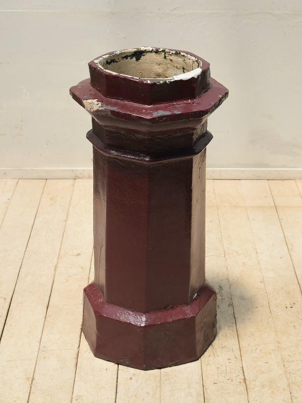 イギリス アンティーク チムニーポット 植木鉢 プランター 4044
