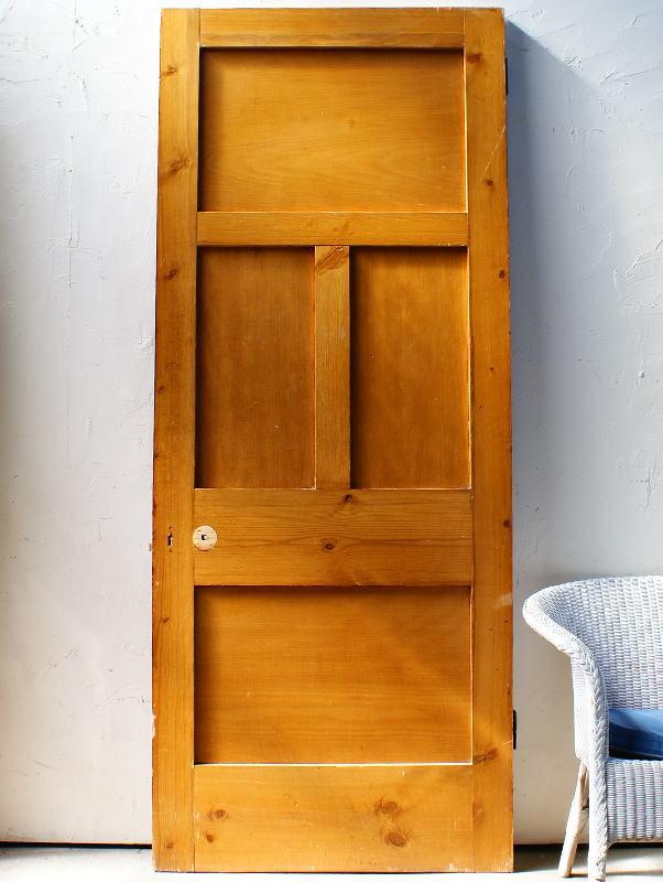 イギリスアンティーク 木製ドア 扉 建具 ディスプレイ 4411