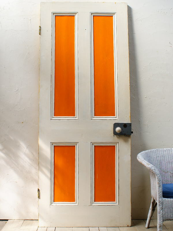 イギリスアンティーク 木製ドア 扉 建具 ディスプレイ 4425