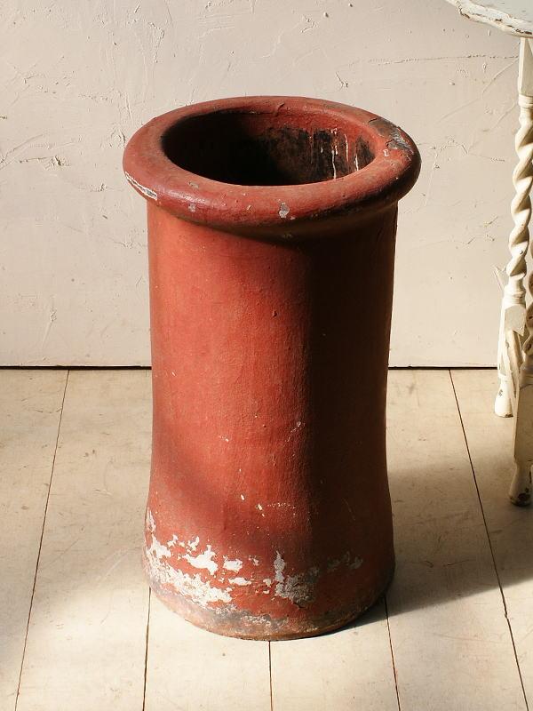 イギリス アンティーク チムニーポット 植木鉢 プランター 5078