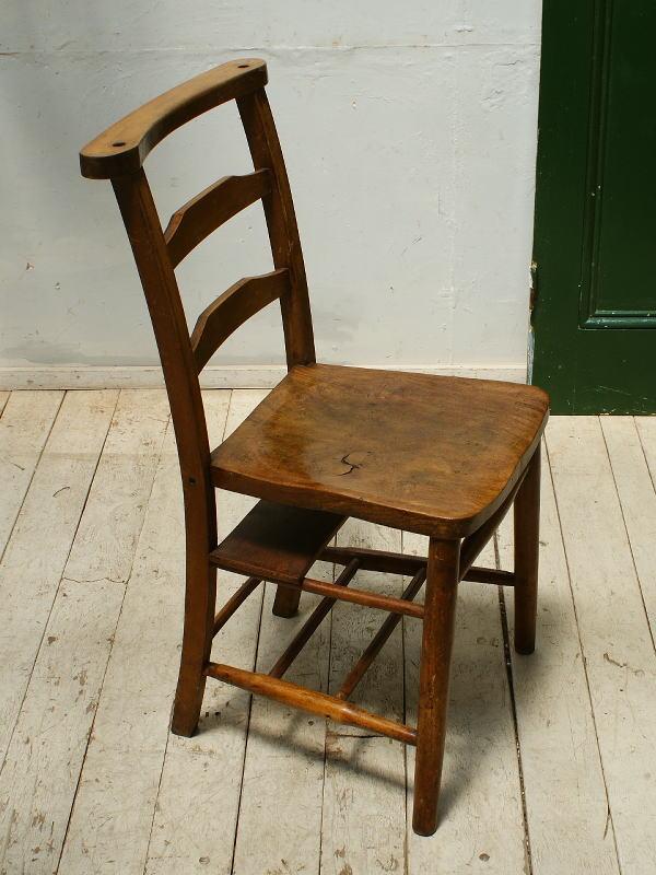 イギリス アンティーク家具 キッチンチェア 椅子  5431