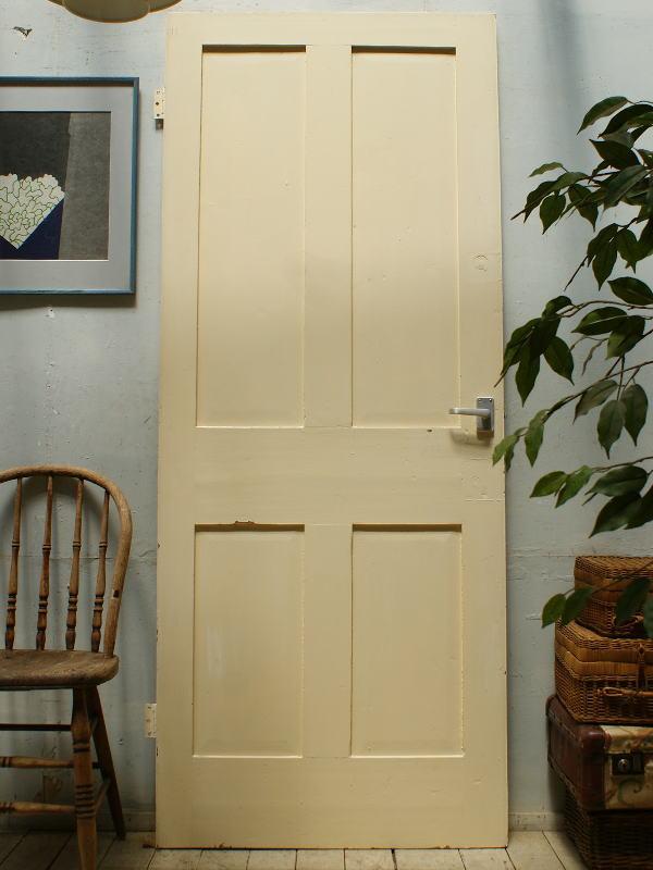 イギリス アンティーク 木製ドア 扉 ディスプレイ 建具 5464