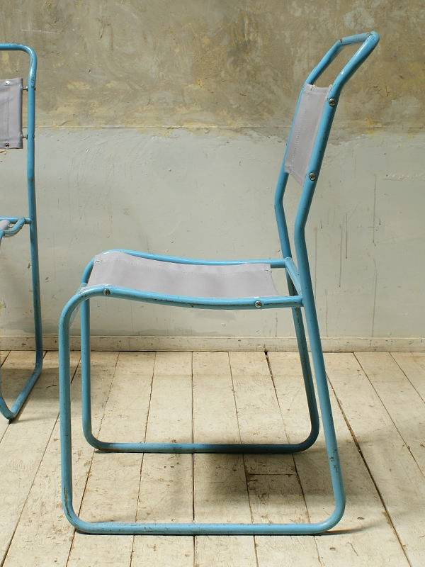 イギリス アンティーク家具 アイアン カフェチェア ガーデンチェア 椅子 5671