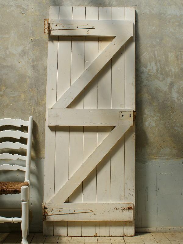 イギリス アンティーク 木製ドア 扉 ディスプレイ 建具 5724