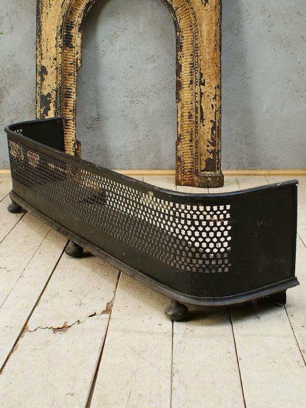 イギリス アンティーク ファイヤーガード フェンダー 暖炉器具 5808