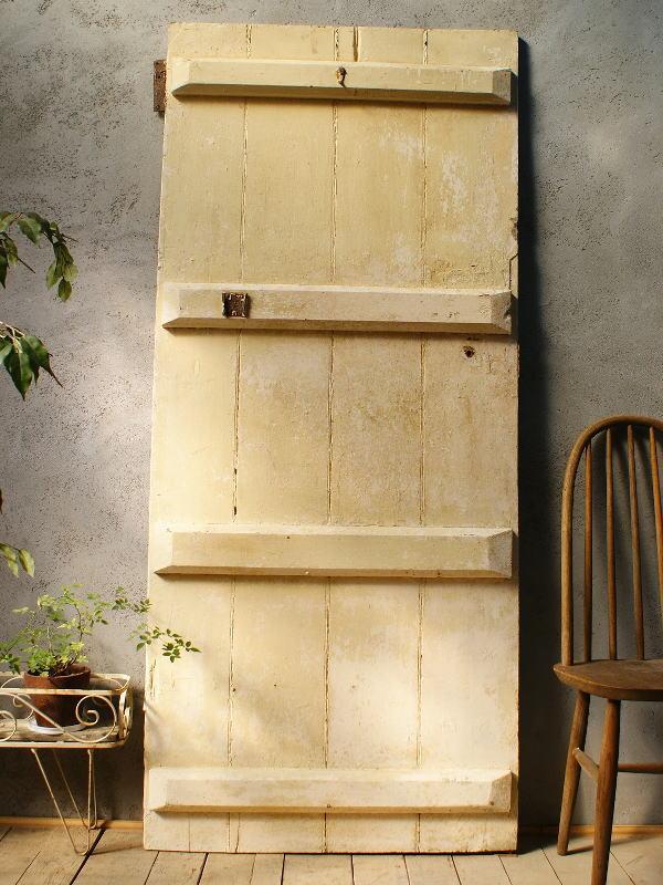 イギリス アンティーク 木製ドア 扉 ディスプレイ 建具 5842