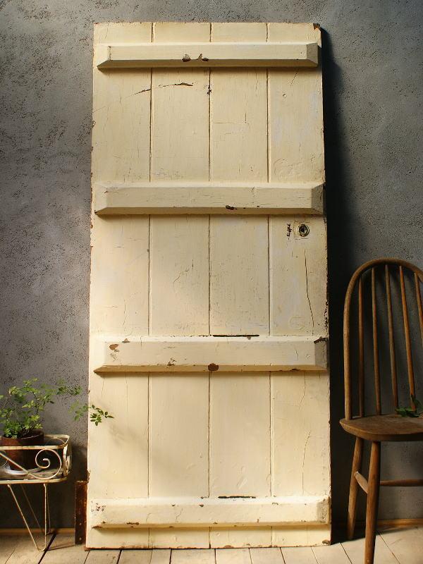 イギリス アンティーク 木製ドア 扉 ディスプレイ 建具 5856