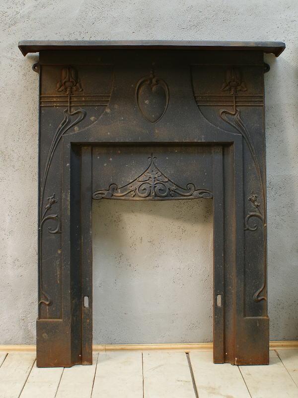 イギリス アンティーク ファイヤープレイス 暖炉 ディスプレイ 5933