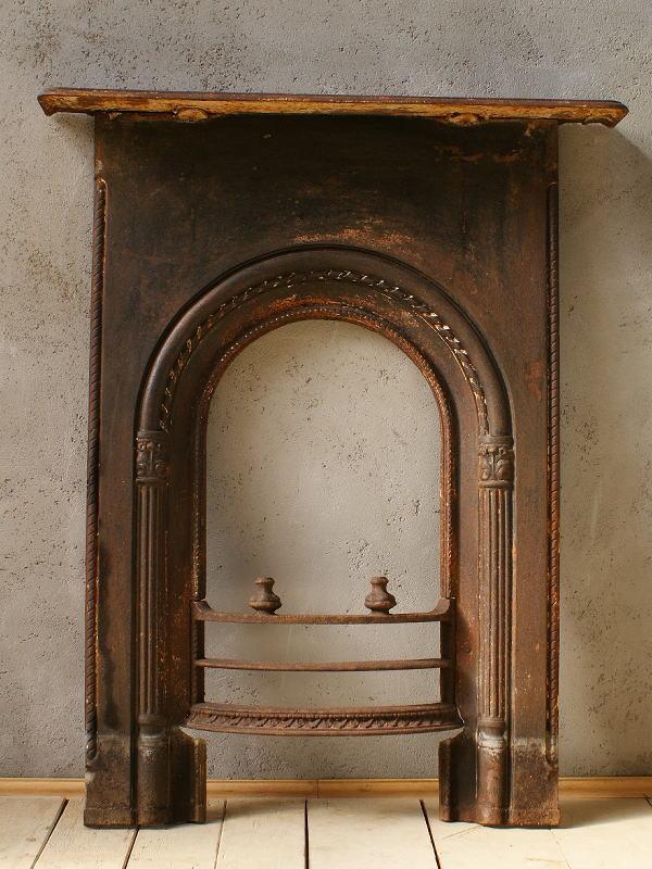 イギリス アンティーク ファイヤープレイス 暖炉 ディスプレイ 5941
