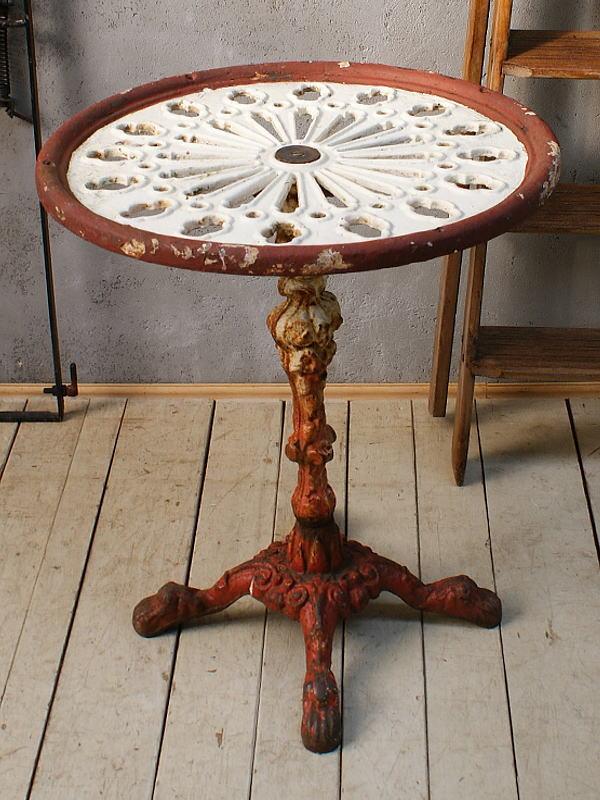 イギリス アンティーク ガーデンテーブル ガーデニング  5946