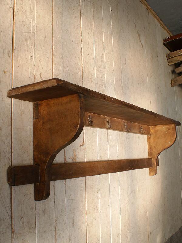 フレンチ アンティーク 木製ラック ディスプレイ 6066