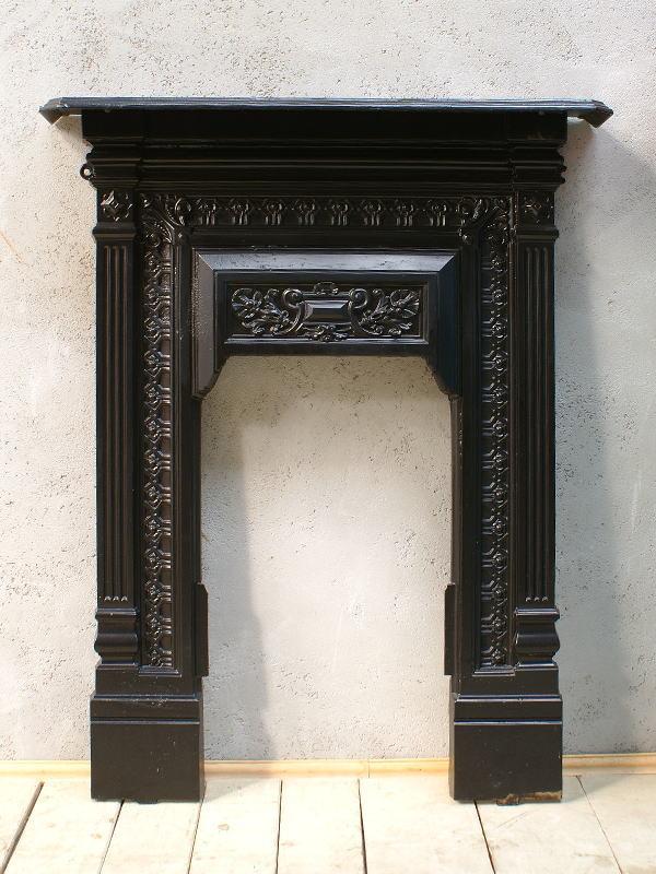 イギリス アンティーク ファイヤープレイス 暖炉 ディスプレイ 6106