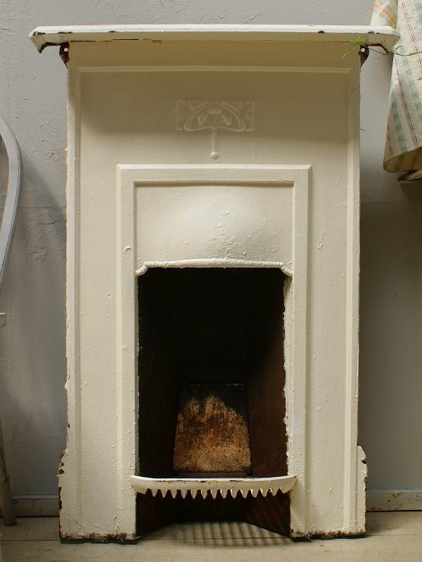 イギリス アンティーク ファイヤープレイス 暖炉 ディスプレイ 6186