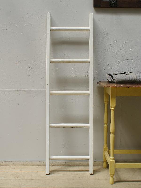 イギリス アンティーク 木製ラダー 梯子 ディスプレイ 6203