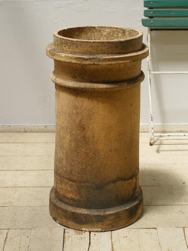 イギリス アンティーク チムニーポット 煙突 ガーデニング 6256