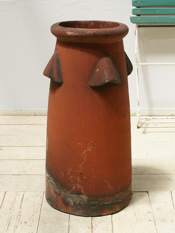 イギリス アンティーク チムニーポット 煙突 ガーデニング 6259