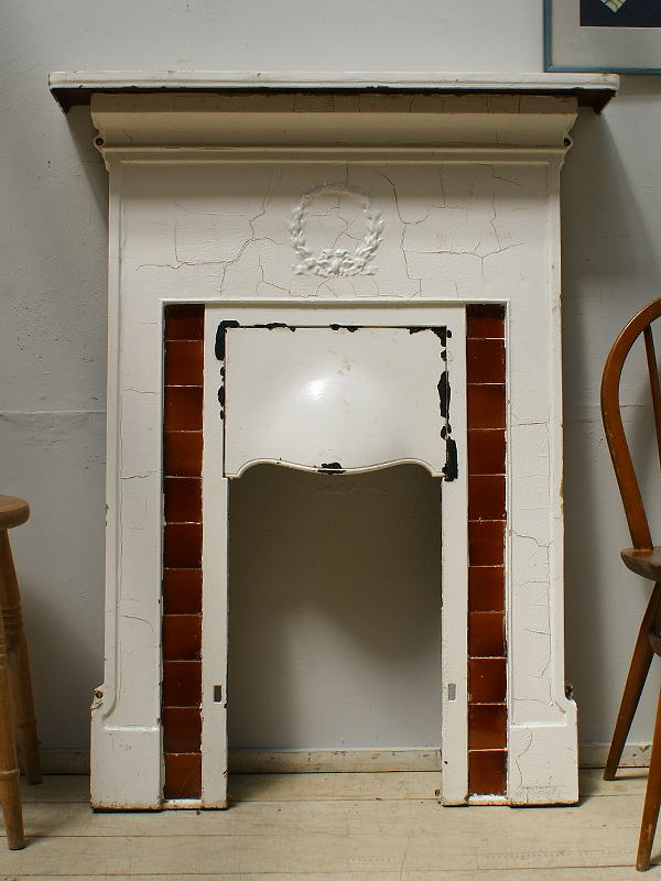 イギリス アンティーク ファイヤープレイス 暖炉 ディスプレイ 6270