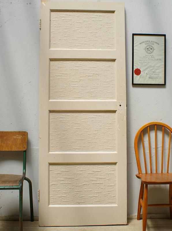 イギリス アンティーク 木製ドア 扉 建具 6403