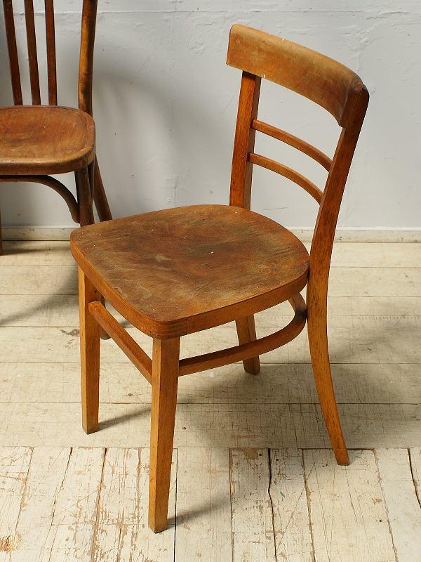 チェコ製 アンティーク ベントウッドチェア 椅子 6477