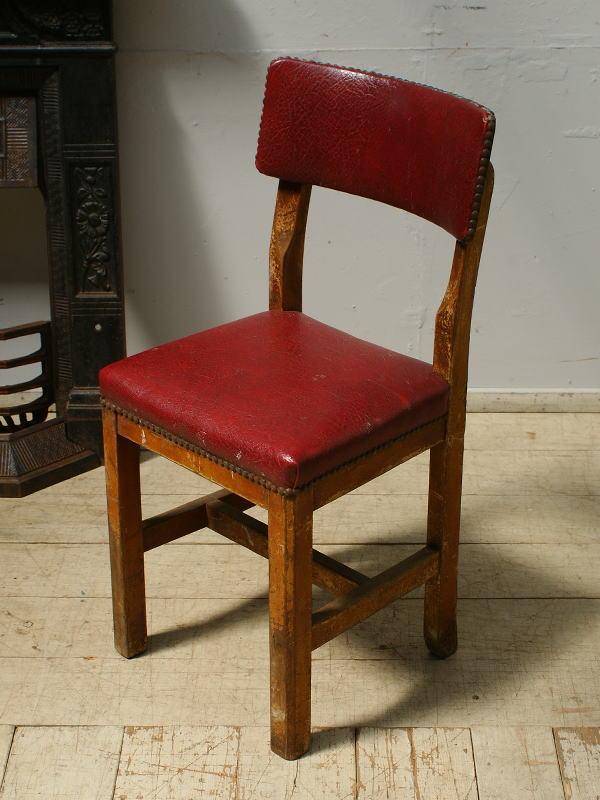 イギリス アンティーク家具 キッチンチェア 椅子 6479