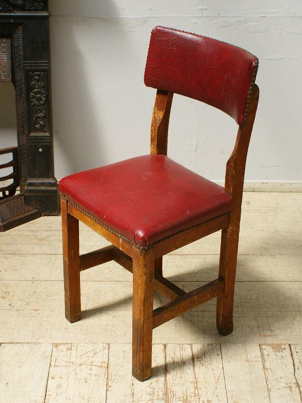 イギリス アンティーク家具 キッチンチェア 椅子 6480