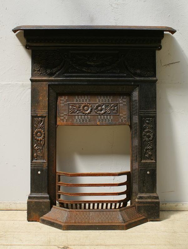 イギリス アンティーク ファイヤープレイス 暖炉 ディスプレイ 6483